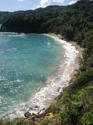 pueblo playa breton plage cabo francés monument naturel république dominicaine tourisme río san juan mi maría trinidad sánchez